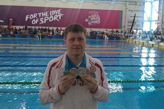 Оренбуржцев привез 6 медалей со всемирной олимпиады ветеранского спорта