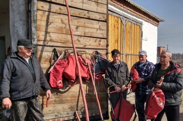 Население Соболинки Яйского района составляет 50 человек.