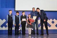 В Ноябрьске состоялось награждение семей-победителей.