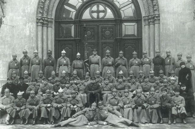 Личный состав 3-го отделения милиции. 1922 год.