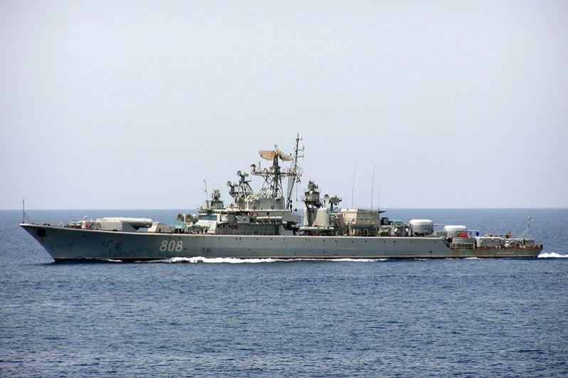 Сторожевой корабль 2 ранга «Пытливый».