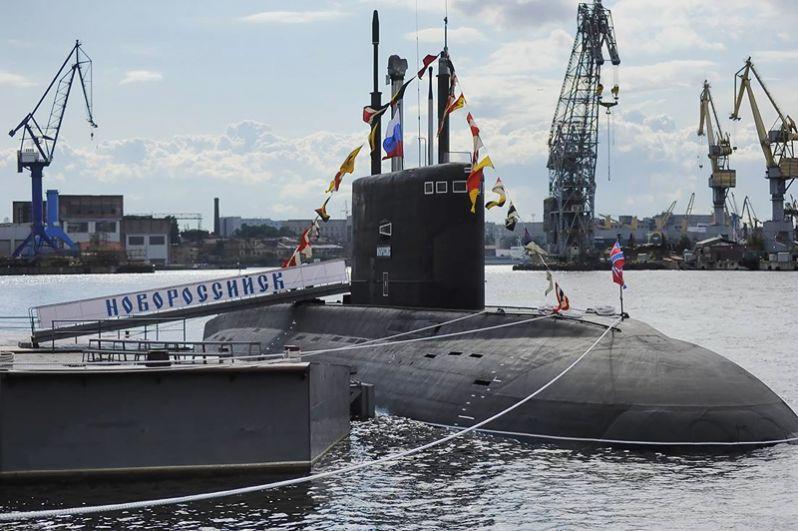 Головной корабль проекта 636.3 «Варшавянка», подводная лодка «Новороссийск».