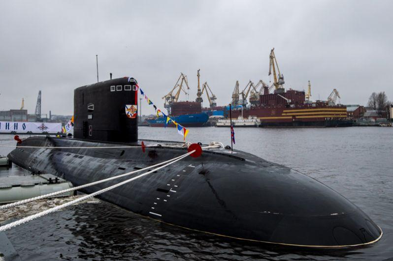 Подводная лодка «Колпино».