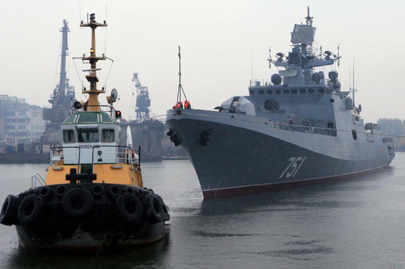 Сторожевой корабль «Адмирал Эссен».