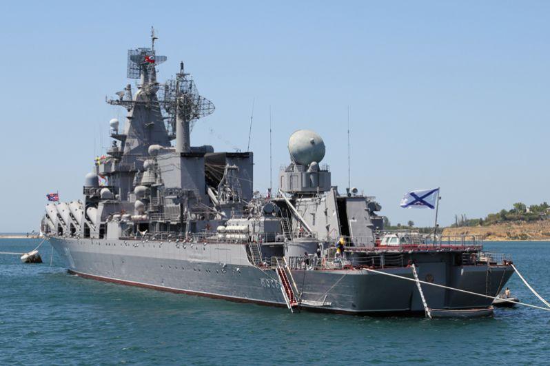 Большой ракетный крейсер «Москва» — головной корабль проекта 1164 «Атлант». Построен на судостроительном заводе имени 61 коммунара в Николаеве под именем «Слава». После списания противолодочного крейсера «Москва» проекта 1123 унаследовал его имя и стал флагманом Черноморского флота России.
