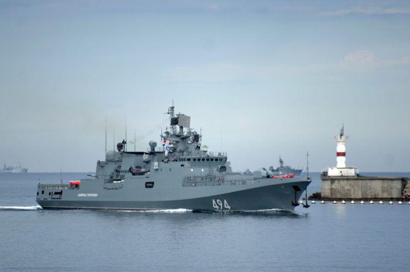 Головной сторожевой корабль Черноморского флота «Адмирал Григорович».