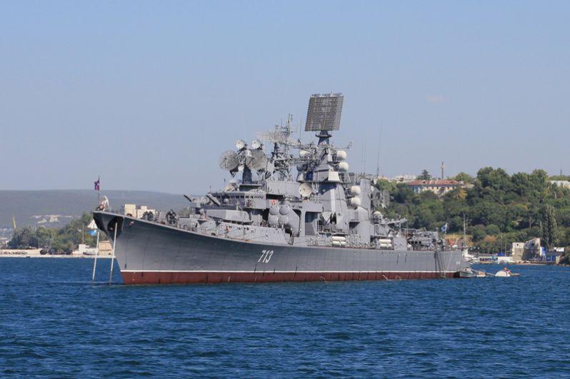 Большой противолодочный корабль 1 ранга «Керчь».