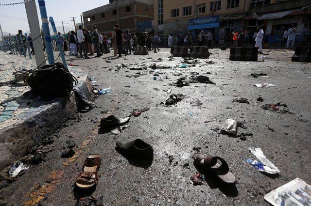 Из-за взрыва вКабуле погибли несколько человек