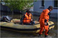 Губернатор области провел брифинг с журналистами по теме ишимского паводка