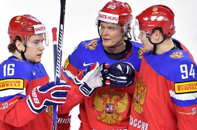 Сборная России обеспечила себе место вплей-оффЧМ похоккею