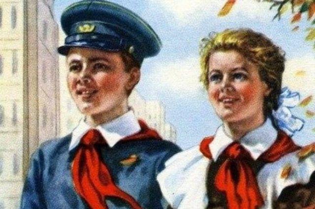 В основе сюжета история девочки из будущего, которая попадает в 1980 год.