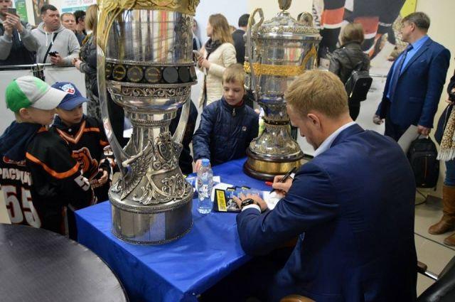 ВПермь приехал Кубок Гагарина иКубок РФ