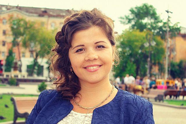 Анастасия Воробьёва уже побеждала в подобном конкурсе в Добрянке.