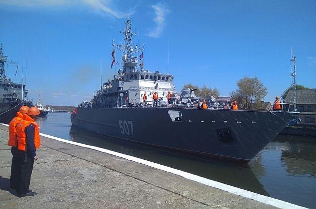 Балтийский флот получил новейший морской тральщик.