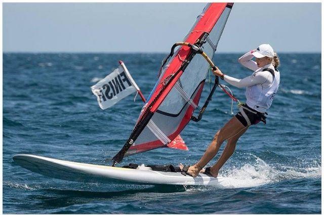 Стефания Елфутина завоевала серебро чемпионата Европы вклассеRS: X