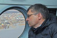 Владимир Якушев вылетел в Викуловский район с проверкой ситуации с паводком