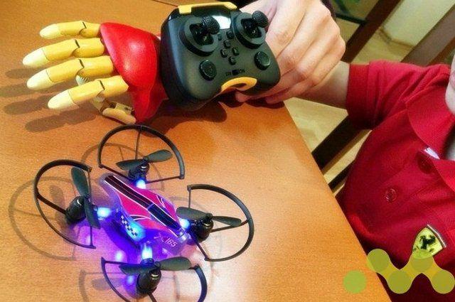 ВТатарстане студентке на3D-принтере изготовили протез кисти