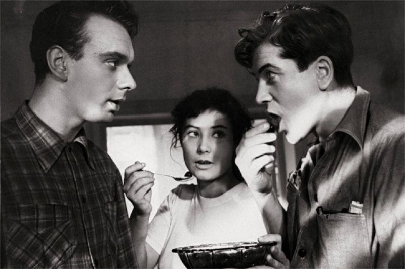 «Летят журавли», 1957 год. Борис Бороздин.