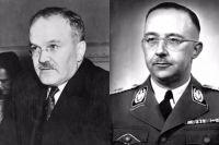 Вячеслав Молотов и Генрих Гиммлер.