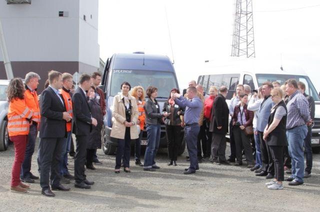 11 мая Михеевский ГОК стал местом встречи профессоров и преподавателей четырёх вузов Урала, техникума, представителями двух ведущих компаний–производителей оборудования для горнорудой промышленности, а также производственников.
