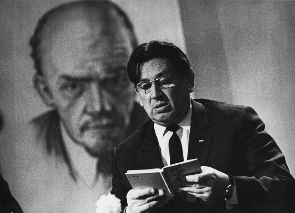 Первый секретарь Ульяновского обкома КПСС Анатолий Скочилов