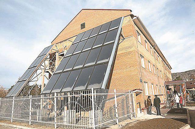 Энергоэффективный дом 14А по улице Бочкина в городе Дивногорске Красноярского края, построенный по программе переселения граждан из аварийного жилья.
