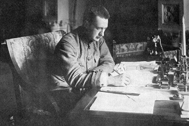 Александр Федорович Керенский, Петроград 21 августа 1917 года.