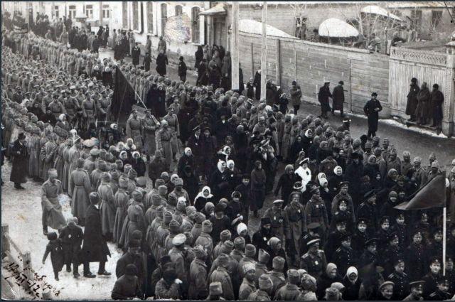 Марш Свободы. Март 1917 года.