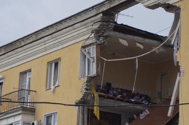 Пострадавшие при взрыве газа вВолгограде получают материальную помощь