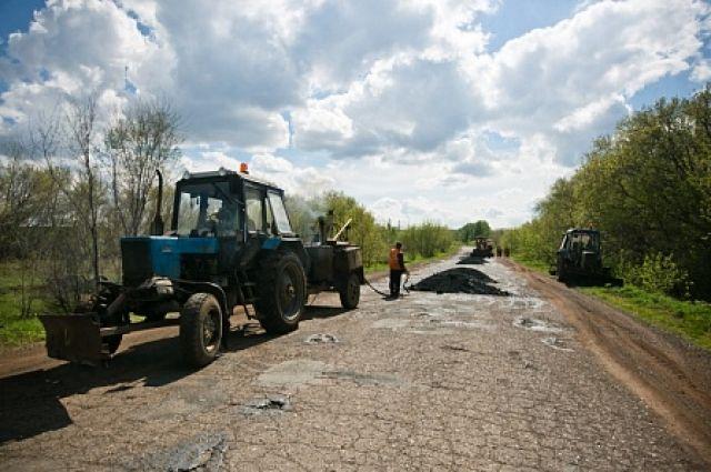 ВОренбуржье завели дело из-за разрушенной после ремонта дороги