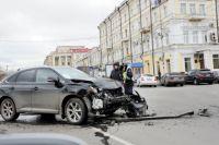 Аварию спровоцировал ВАЗ - 2104.