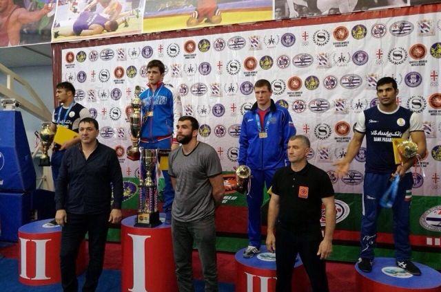 Спортсмен изРостова стал 3-м натурнире погреко-римской борьбе вБатуми