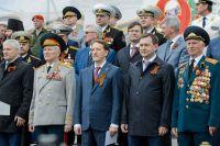 В торжествах по случаю Дня победы участвовал губернатор Воронежской области.