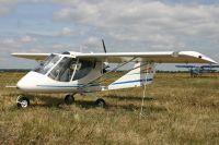 Легкомоторный самолёт разбился при жёсткой посадке.