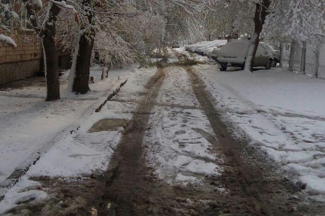 В некоторых районах образуется устойчивый снежный покров.