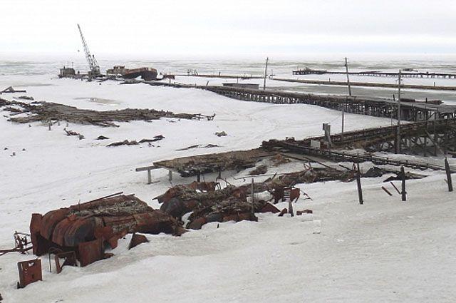 В Новом Порту прошла генеральная уборка берега.