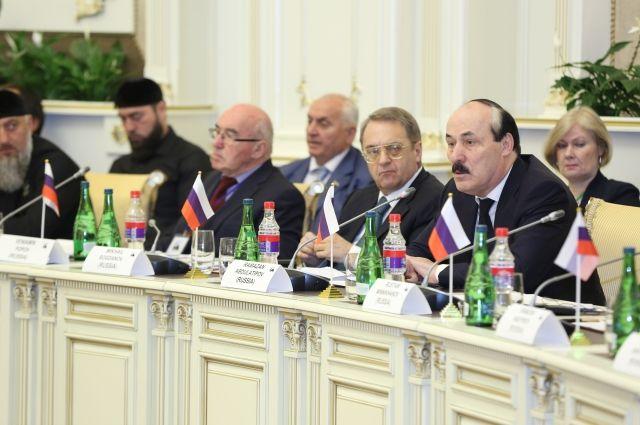Рамазан Абдулатипов принял участие в совещании группы стратегического видения «Россия— исламский мир»