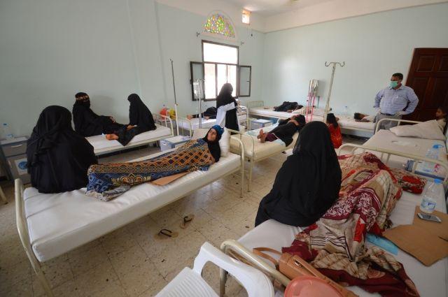 Неменее  240 человек погибли  отхолеры вЙемене затри недели— ВОЗ