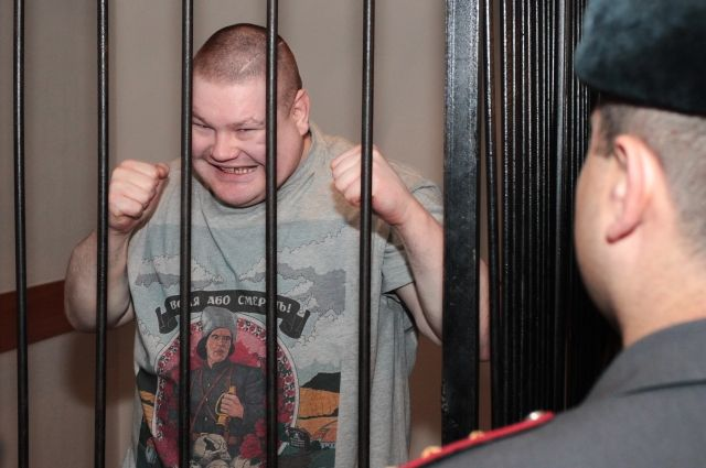 Петербургский националист Вячеслав Дацик попытался сбежать изсуда