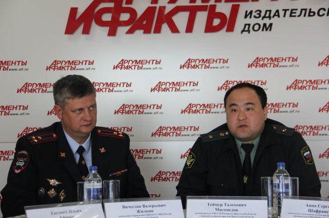 Вячеслав Жилкин и Теймур Магомедов.
