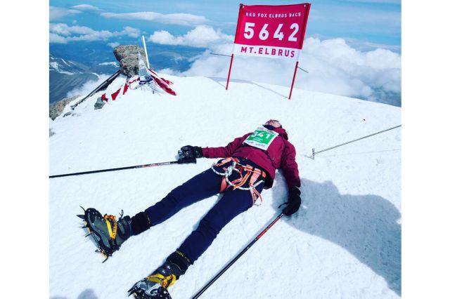 Ставрополец покорил вершину Эльбруса затри часа