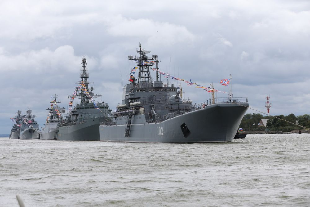 Большой десантный корабль «Калининград» проекта 775. В составе флота - с 1984 года.