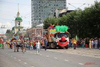 """Карнавал """"Пермское яркое"""" каждый год проходит 12 июня."""