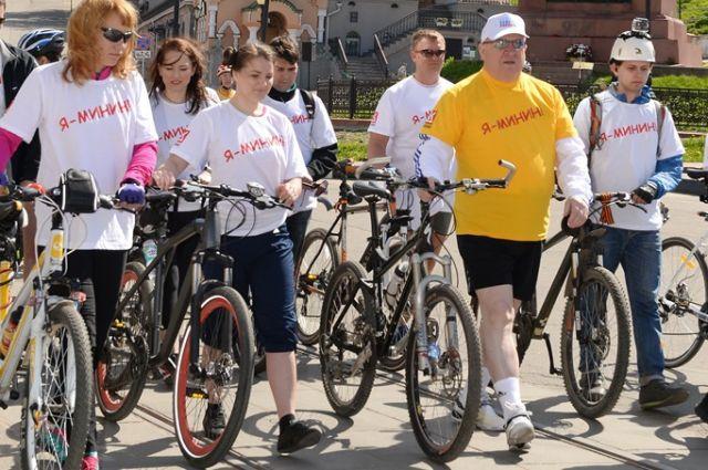 XII-го Открытый велопробег «Дорога Минина» пройдет вНижегородской области 21мая