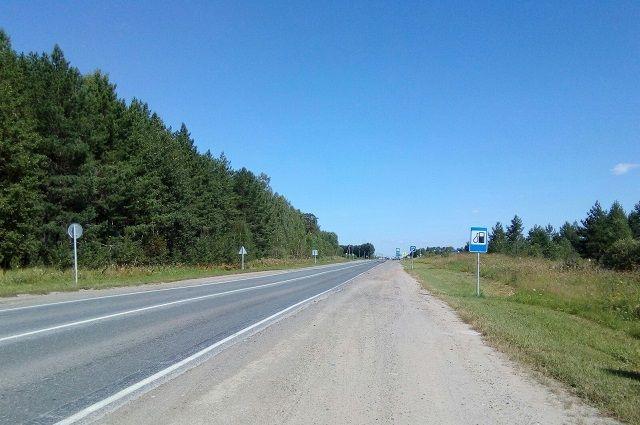 Органичение движения по дороге Абатское – Викулово продлено ещё на три дня