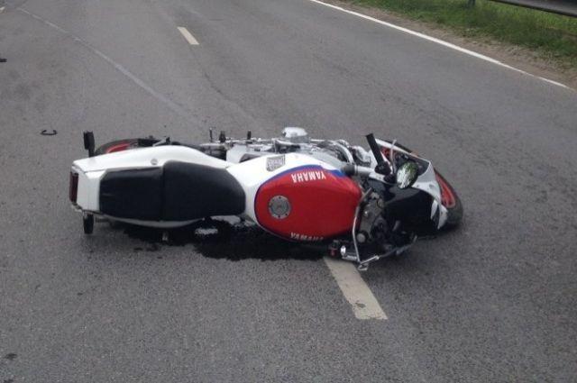 Двое мотоциклистов пострадали за сутки на дорогах Калининграда.