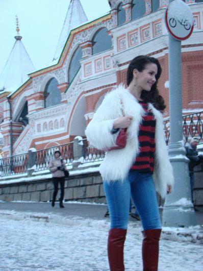 2013 год. Наталия Орейро в Москве.