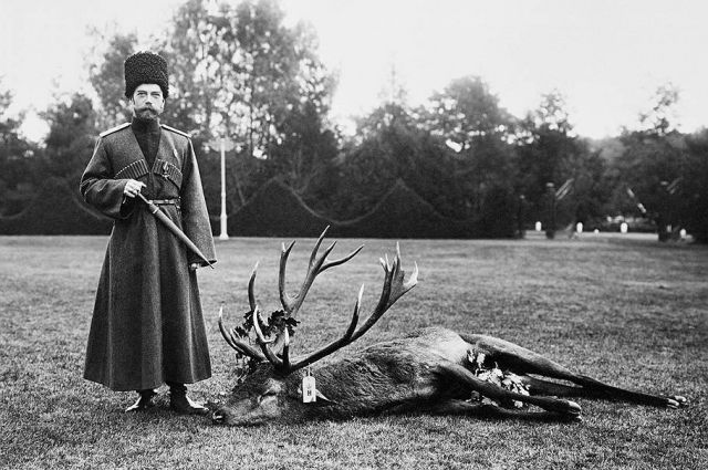 1912 год. На охоте в Спале.