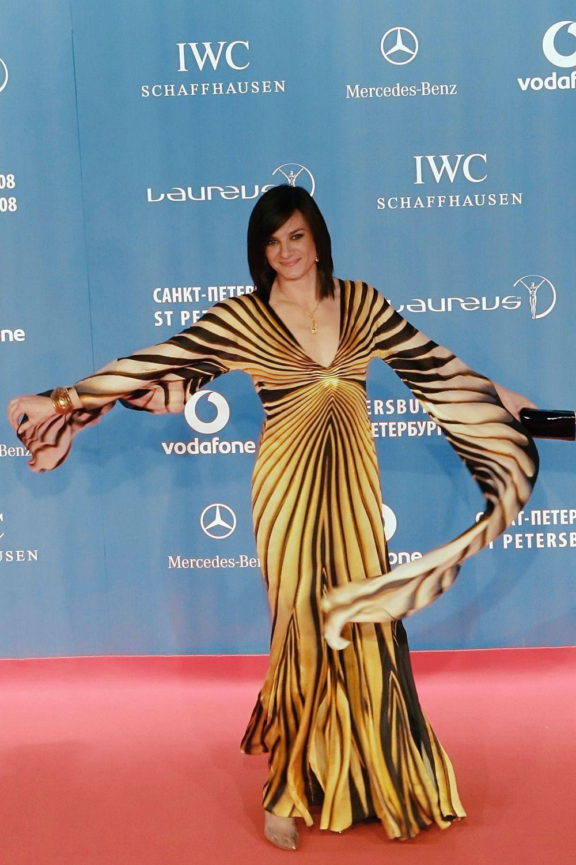 На вручении спортивных премий Laureus World Sports Awards-2008.