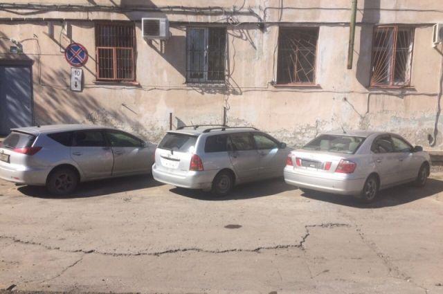 Угнанные иномарки в Ангарске.